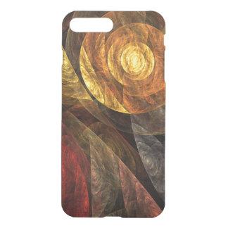 A espiral do defletor da arte abstracta da vida capa iPhone 7 plus