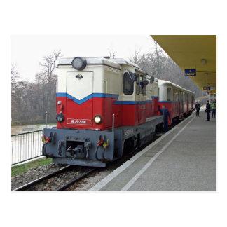 A estrada de ferro das crianças, Budapest 2. Cartão Postal