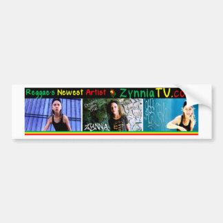 A estrela a mais nova da reggae de ZynniaTV Adesivo Para Carro