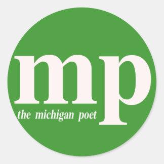 A etiqueta do poeta de Michigan