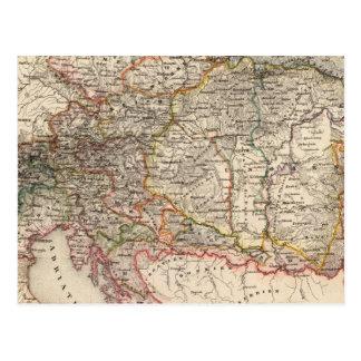 A Europa Central Cartão Postal