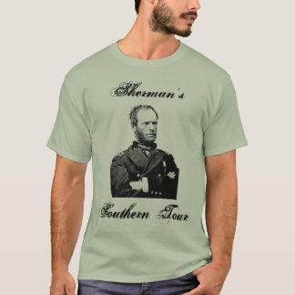 A excursão do sul de Sherman Tshirts
