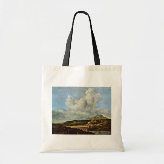 A explosão por Ruisdael Jacob Isaaksz. Van Bolsas De Lona
