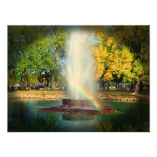 A extremidade do arco-íris foto