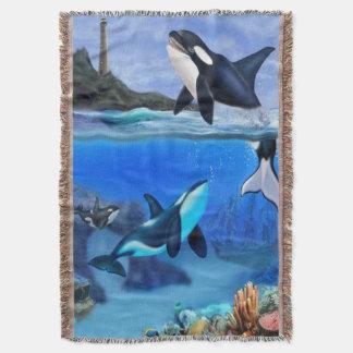A família da orca cobertor