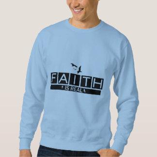 A fé é real moletom
