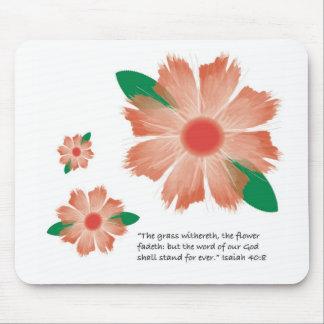 A flor desvanece-se Mousepad