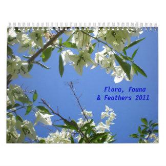 A flora nova, fauna, empluma-se o calendário