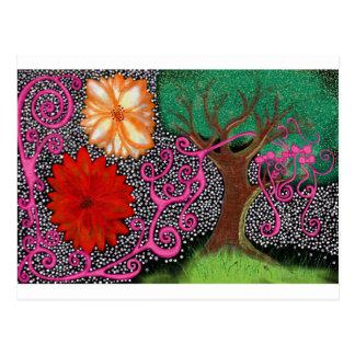 A floresta da possibilidade eterno cartão postal