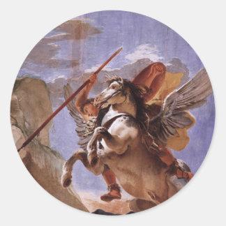 A força da eloquência, do Bellerophon e do Pegasus Adesivo