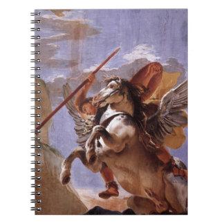 A força da eloquência, do Bellerophon e do Pegasus Cadernos Espirais