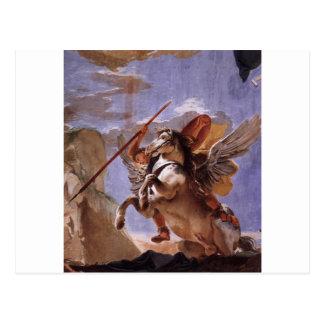 A força da eloquência, do Bellerophon e do Pegasus Cartão Postal
