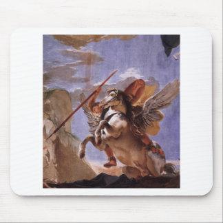 A força da eloquência, do Bellerophon e do Pegasus Mouse Pad