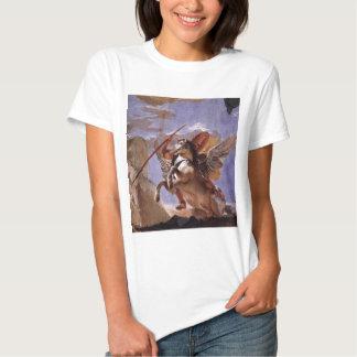 A força da eloquência, do Bellerophon e do Pegasus T-shirts