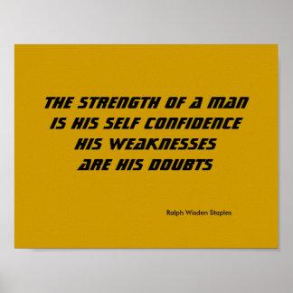 A força de um homem