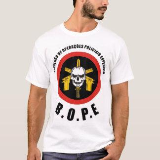 A força policial do Special de BOPE Tropa De Elite Camiseta