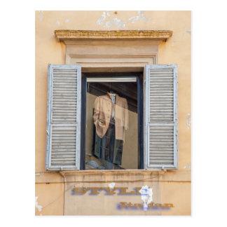 A forma italiana, denomina o italiano cartão postal