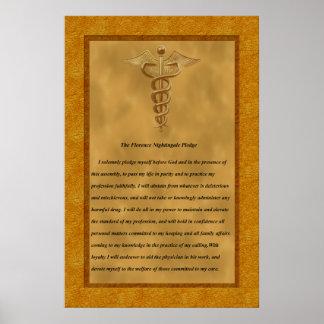 A garantia de Florence Nightingale Poster