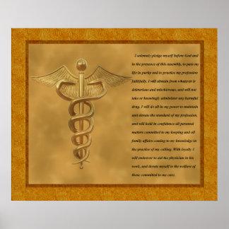 A garantia de Florence Nightingale Posters