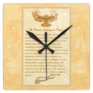 A garantia de Florence Nightingale Relógios Para Pendurar