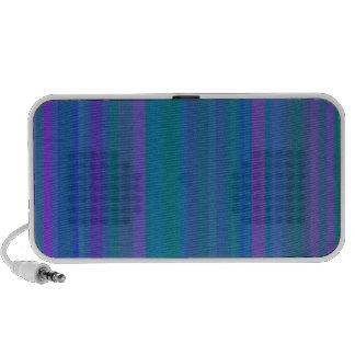 A gradação listra o roxo do verde azul sistema de som