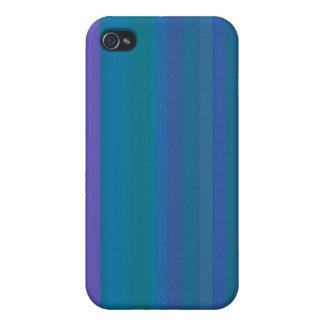 A gradação listra o roxo do verde azul capa iPhone 4
