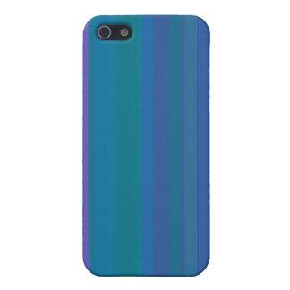 A gradação listra o roxo do verde azul iPhone 5 capas