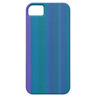 A gradação listra o roxo do verde azul capa iPhone 5