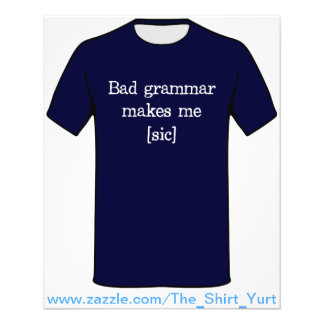 A gramática má faz-me [o SIC] Flyer 11.43 X 14.22cm