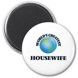 A grande dona de casa do mundo imãs