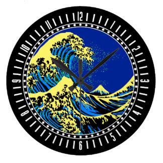 A grande onda de Hokusai no seletor do estilo do Relógio Grande
