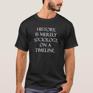A história é meramente camisa da Sociologia