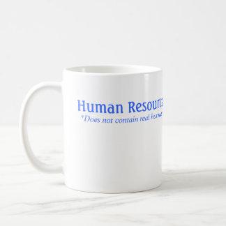 A hora não contem seres humanos reais caneca de café