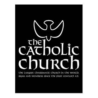 A igreja Católica. A igreja carismática a maior Cartao Postal