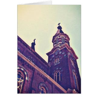 A igreja Católica de St Mary Cartão Comemorativo
