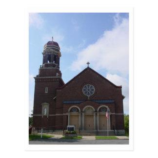 A igreja Católica de St Peter Cartão Postal