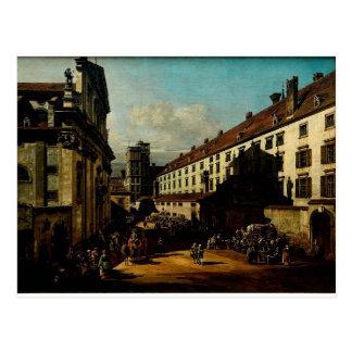 A igreja dominiquense em Viena Bernardo Bellotto Cartão Postal