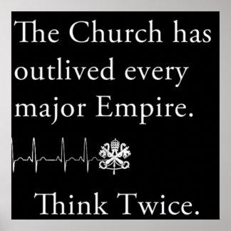 A igreja outlived cada poster principal do império