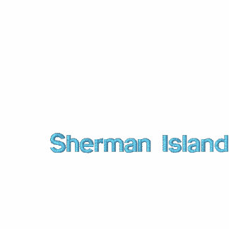 A ilha de Sherman Windsurf camiseta Maniac