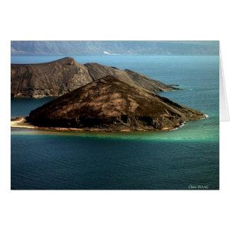 A ilha do diabo cartão comemorativo