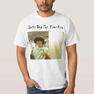 A imagem 003, pintinhos escava o Judeu-Fro Camiseta