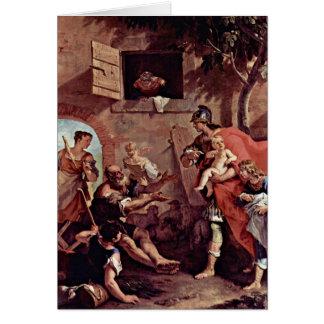A infância de Ciro. Por Sebastiano Ricci Cartão Comemorativo