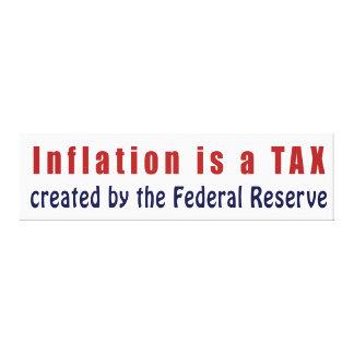 A inflação é um IMPOSTO criado por Federal Reserve Impressão Em Tela