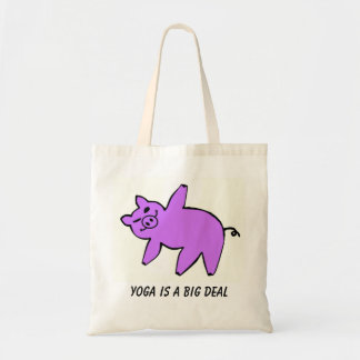 A ioga é uma grande coisa - sacolas da ioga bolsa tote