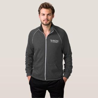 A jaqueta cinzenta dos homens