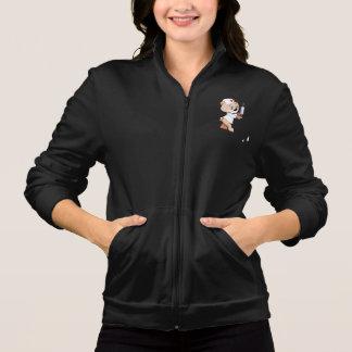 A jaqueta das mulheres da enfermeira do urso de