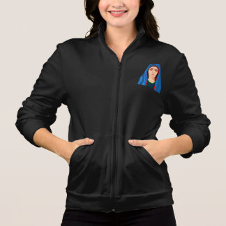 A jaqueta das mulheres da Virgem Maria
