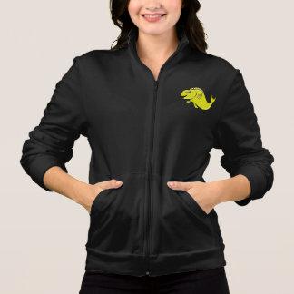 A jaqueta das mulheres dos peixes de Koi