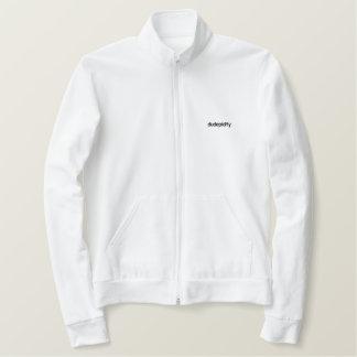 A jaqueta oficial do fecho de correr de Dudepidity