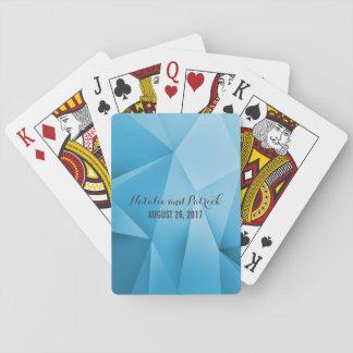 A jóia da safira tonifica cartões de jogo do jogos de baralhos